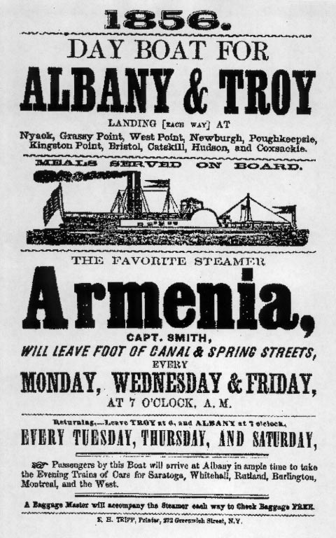 A broadside for the Armenia